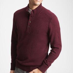 NWT‼️ GAP brand Henley Mockneck Style Sweater